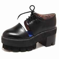 7986O scarpa donna JEFFREY CAMPBELL DELONGE nero shoe woman