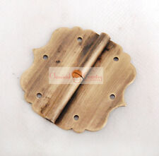 Chinese Traditional Furniture Brass Hardware Box Trunk/Cabinet Hinges 4 sets