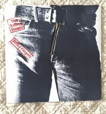 The Rolling Stones – Sticky Fingers 1979 Zipper Cover EXCELLENT CONDITION