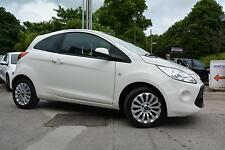 Ford Ka 1.2 ( s/s ) Zetec 2011 (61) 33,800 miles in white great condition