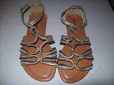 WOMEN'S CALL IT SPRING KEMPLE STRAPPY SANDALS METALIC GOLD SIZE 5.5 NEW IN BOX