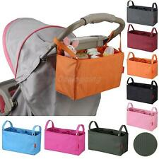 Waterproof Baby Diaper Bags Pocket Organizer Nappy Changing Pad Bag Stroller Bag