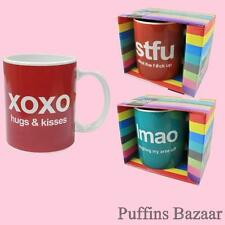 Text Talk Mugs - 3 Different Designs