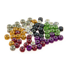 10x M4 Nylon Insert Self-Lock Nuts (Nyloc) Hex Lock Nut Aluminum Nuts Steel Nuts