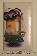 Minions Sexy Girl Light Switch & Power Duplex Outlet Cover Plate