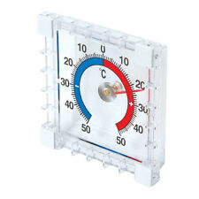 Stick On Indoor /Outdoor Thermometer Room Garden Outside Inside Temperature