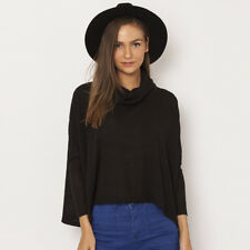 All About Eve Wren Long Sleeve Top in Black
