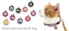 Red Dingo Cat ID Tag Engraved-Life Guarantee 12 Different Designs Dogfish uk