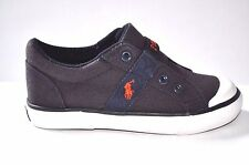 NEW POLO RALPH LAUREN BOY'S TODDLER NAVY SPRING SHOES GARDENER SNEAKER 8 or 10