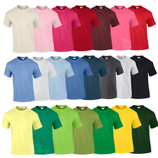 GILDAN MEN'S T-SHIRT PLAIN SUMMER TEE SHIRT SLEEVE COTTON TOP 2XL-5XL PLUS SIZE