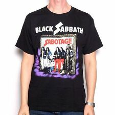 Black Sabbath Sabotage Vintage T-Shirt SM, MD, LG, XL, XXL New