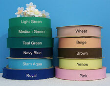 "1-1/8"" (29mm) Petersham Cotton Rayon Grosgrain Ribbon (2 yds)"