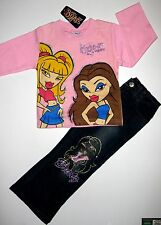 BNWT Bratz Top Jeans 100% cotton Long sleeves tshirt t-shirt denim pants