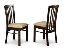 HLC-CAP Set of 2 Dining Room Chairs in Cappuccino Finish