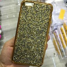 Sparkling Bling Glitter Crystal Diamond Soft Case Cover For iPhone 5S 6 6S plus