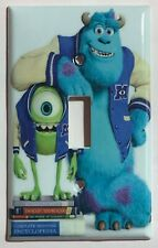 Monster University James P Sullivan Light Switch Power Duplex Outlet Cover Plate