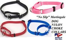 "DOGS Martingale ""Greyhound"" Style No Slip DOG Training Choke Collar LARGE-XLARGE"