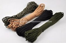 7 Strand Core Paracord Parachute Cord Lanyard Mil Spec Type III 100ft S4