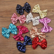 Kids Princess Children Girl Bow Hair Clips Hairpin Baby Sequin Bowknot Barrette
