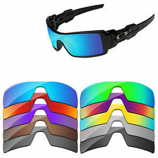 Polycarbonate Replacement Lenses For-Oakley Oil Rig Sunglasses Multi-Options