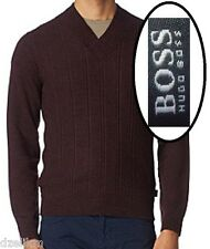 NWT Hugo Boss Black Label by Hugo Boss Slim Fit Jumper V-neck Sweater