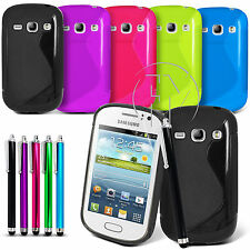 WAVE S LINE GRIP GEL CASE SILICONE CASE COVER FOR SAMSUNG GALAXY FAME S6810