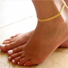 Women Gold/Silver Barefoot Ankle Chain Anklet Bracelet Foot Jewelry Sandal Beach