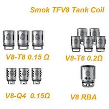 AUTHENTIC SMOK TFV8 TANK T8 COILS 0.15OHMS 3PCS/PK