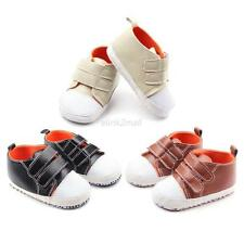 Infants Baby Girl Boy Soft Sole Prewalker Sneakers Toddler Kids Crib Shoes 0-12M