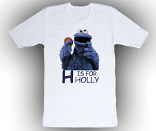 Personalized Sesame Street Cookie Monster ABC Birthday T-Shirt Gift