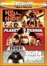 Hell Ride/Planet Terror/Death Proof [Region 1] - DVD - New - Free Shipping.