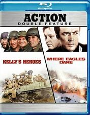 Kelly's Heroes/Where Eagles Dare [Region A] [Blu-ray] - DVD - New - Free Shippin