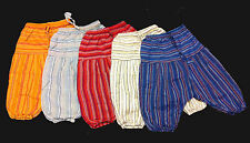 Kids unisex Harem Pants 100% Cotton Hippie/Hippy  BoHo  Size 2-3