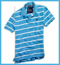 American Eagle Mens AE Athletic Fit Pique STRIPED Polo XS NEW FREE FAST SHIPPING