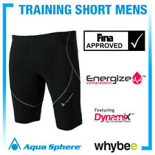 AQUA SPHERE MENS COMPRESSION SWIMWEAR TRAINING SHORT MEN TRIATHLON WETSUIT