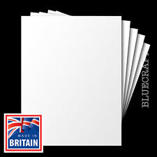 1000 A6 White Blank Competition Entry Postcards 230mic