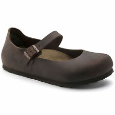 Birkenstock Oiled Leather MANTOVA $239.95rrp Habana Brown NARROW BNIB