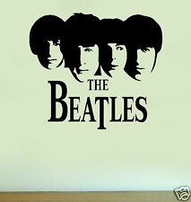 THE BEATLES Silhouette Vinyl Wall Art Quote Sticker Decal Home Decoration 1