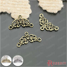 30PCS 26*14MM Zinc Alloy Connected Charms Jewelry Findings Accessories 26021