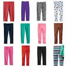NWT Carters & Jumping Beans Infant Girl Leggings Pants BUY 3 GET 1 FREE NB-24 Mo