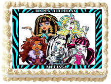 MONSTER HIGH Image Edible Cake topper Frosting sheet