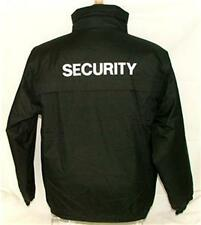 Security Waterproof Jacket Embroidered Front/Back S-XXL