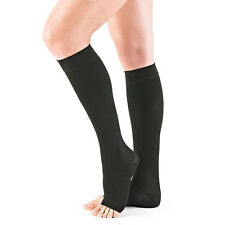 Neo G Open Toe Below Knee Compression Stocking - Small - Black