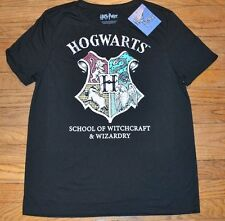 Hogwarts Short Sleeve Juniors Top Officially Licensed Harry Potter T-Shirt Tee