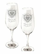 Retirement Anniversary Wedding Birthday Gay Engagement Personalised Glass Gifts