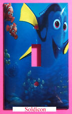 Finding Dory Nemo Light Switch Power Outlet Cover Plate Home decor