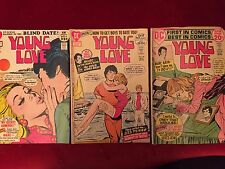 """DC Romance Comics: 2 issues of """"Young Love"""""""