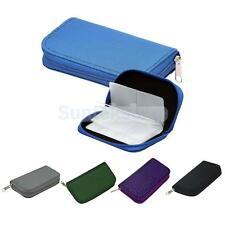 22 Slots SD/CF/XD Microdrive Memory Card Storage Pouch Case Holder Wallet