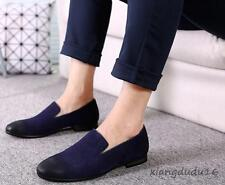 Fashion Men' Oxford Pointy toe Slip on Loafers Dress Formal Casual Driving shoes