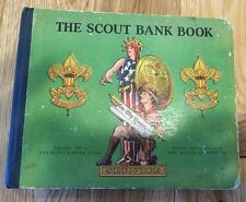 Vintage Boy Scouts of America The Scout Bank Book 1930 Platt & Munk